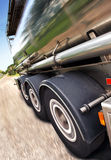 Remorque de camion-citerne Photographie stock libre de droits