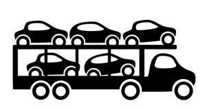 Remorque de véhicule illustration stock
