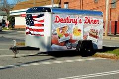 Remorque de wagon-restaurant image libre de droits