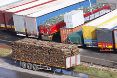 Remorques de camion Image stock