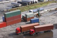 Remorques de camion Images stock