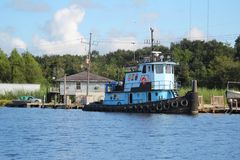 Remorqueur de la Louisiane photos libres de droits
