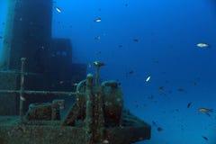 Remorqueur submergé photos stock