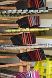 Remos del barco de rowing Imagen de archivo
