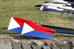 Remos del rowing Imagenes de archivo