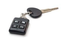 remote ключа управлением автомобиля Стоковое Изображение RF