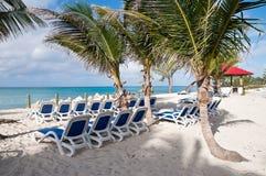 remote пляжа ослабляя Стоковая Фотография RF