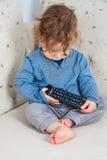 remote ребёнка Стоковая Фотография
