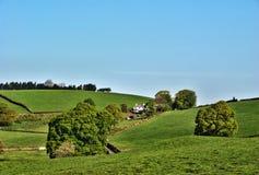 remote сельского дома сельской местности английский Стоковая Фотография RF