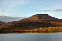 remote Шотландия коттеджа Стоковая Фотография RF