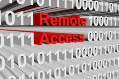 Remote access Royalty Free Stock Image