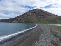 This is a remote area in Iceland at Fjordur in Flateyjardal.