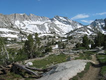 Remote area of the Sierras Royalty Free Stock Photos