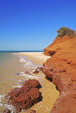 Remote Australian Beaches Royalty Free Stock Photography