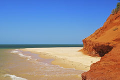 Remote Australian Beaches Royalty Free Stock Photo