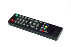 Remote. The background is white Royalty Free Stock Photography