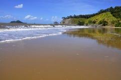 Remote Beach Reflection Stock Photos