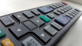 Remote buttons. Buttons on a remote control Stock Photo