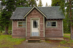 Remote Cabin in the Wilderness Stock Images