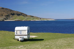 Remote Caravan Royalty Free Stock Images