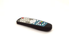 Remote control. Isolated over white Royalty Free Stock Photography
