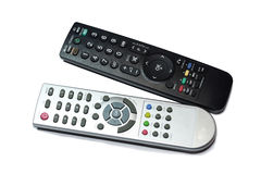 REMOTE CONTROL. On a white background (isolated Royalty Free Stock Photos