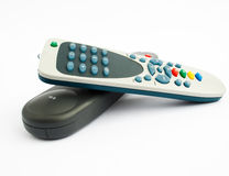 Remote control. TV Remote control isolated on white background Stock Photography