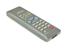 Sharp TV Remote Control Isolated Royalty Free Stock Photography
