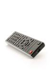 Remote control. For dvd player - Isolated on white - Shallow DOF royalty free stock photos