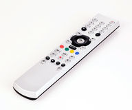 Remote control. TV remote control isolated on white background Royalty Free Stock Photos
