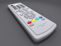 Remote control. Illustration of a remote control Royalty Free Stock Photos