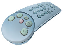 Remote control 2. 3D detailed illustration of a perspectivated remote control Stock Images