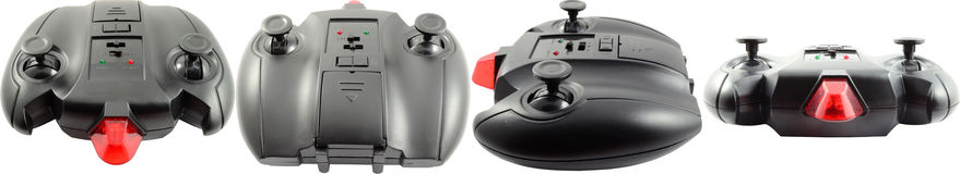 Remote Control. Universal Remote Control For Toy Cars, Helicopters Or Ships Stock Photos