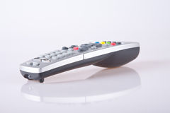 Remote control. A remote control on white background Royalty Free Stock Photography