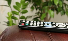 Remote control. Remote control for watching TV Stock Photography