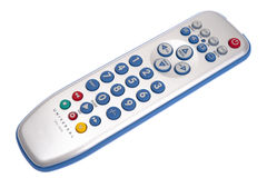 Remote control. On white background Royalty Free Stock Photos