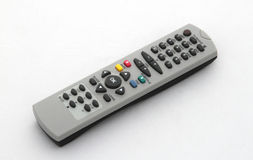Remote control. On a white background Stock Photography