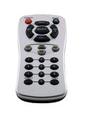Remote Control. For radio or television, isolated on white Royalty Free Stock Photography