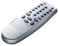 Remote control. TV Remote control on white background stock photography
