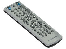 Remote control. To tv and dvd player stock photos
