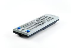 Remote control. The remote control the TV photographed on a white background Royalty Free Stock Photo