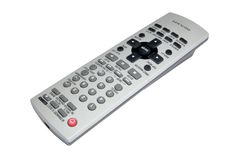 Remote control. For Panasonic dvd player stock image
