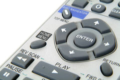 Remote control. Close-up stock photos