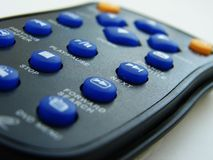 Remote control. Photo of a remote control stock photos