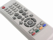 Remote control. Isolated royalty free stock images