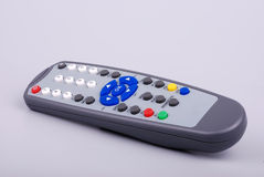 Remote control. Isolated tv vcd dvd remote control stock images