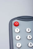 Remote control. DVD player remote control power button royalty free stock photos