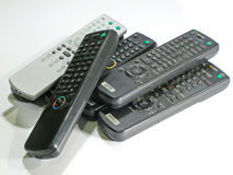 Remote control. Many remote control Royalty Free Stock Photos