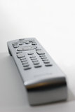 Remote control. A remote control, isolated on white Royalty Free Stock Images