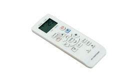 Remote control air-condition on 25 C. Stock Photo